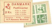 Danmark - frimærkehæfte - AFA4