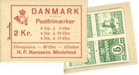 Danmark - frimærkehæfte - afa nr.4
