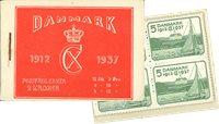 Danmark - frimærkehæfte - AFA6