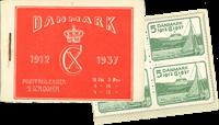 Danmark - frimærkehæfte - afa nr.6