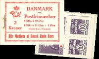 Danmark - frimærkehæfte - afa nr.12