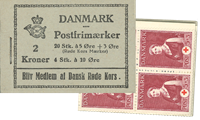 Danmark - frimærkehæfte - afa nr.14