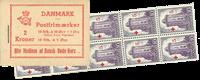 Danmark - frimærkehæfte - afa nr.16