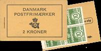 Danmark - frimærkehæfte - afa nr.33