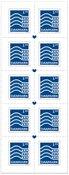Danemark - Nouvelle valeur complémentaire - Bande neuve 10 timbres