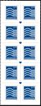 Danmark - Ny suppleringsværdi - Postfrisk 10-stribe