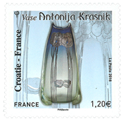 France - Croatie-France - Timbre neuf