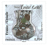 France - France-Croatie - Timbre neuf