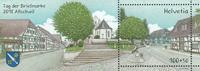 Schweiz - Frimærkets dag - Postfrisk miniark