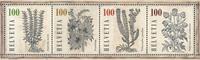 Schweiz - Medicinske planter - Postfrisk miniark