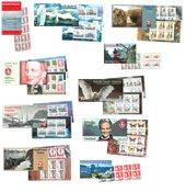Grønlands 10 første frimærkehæfter samlet - No 1 -  10