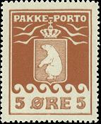Grønland pakkeporto AFA 6 ubrugt