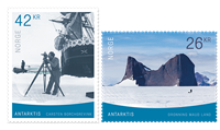 Norge - Antarktis - Postfrisk sæt 2v