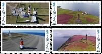 Isle of Man - Fyrtårne - Postfrisk sæt 4v