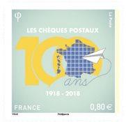 France - Chèque postal - Timbre neuf