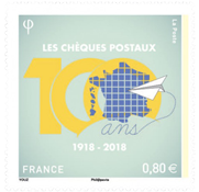 France - Chèque postal - Timbre neuf