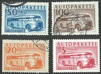 Finland - Buspakke sæt stemplet