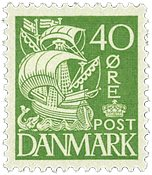 Danmark - AFA 208a postfrisk