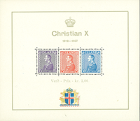 Island - Chr. X Miniark