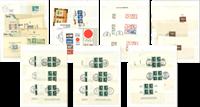 Hele verden - Mappe med blokke og miniark