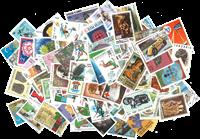 Hele verden - Frimærkepakke 100 forskellige billedærker