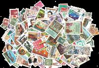 Hele verden - Frimærkepakke 500 forskellige