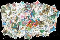 Mundial - Paquete de 3000 sellos diferentes