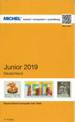 MICHEL - Germany, Junior 2019 - Stamp catalogue