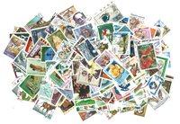 Monde Entier - Paquet de 500 timbres commémoratifs  différent