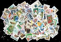Mundial - Paquete de 500 sellos commemorativos diferentes