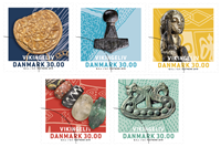 Danemark - La vie des vikings - Bande neuve 5v