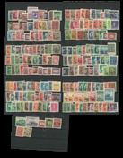Kina - 200 forskellige frimærker