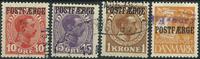 Danmark - Postfærge - 1919-27