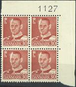 Danmark - AFA 33c i marginalblok