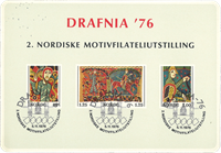 Norge - FDC 1976