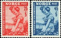 Norge - AFA 365-366 postfrisk