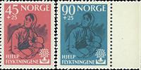 Norja - AFA 457-58 postituoreena
