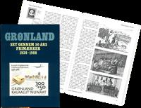 Bog *Grønland set gennem 50 års frimærker 1938-1988*