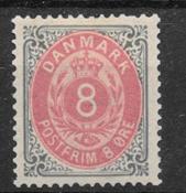Danmark 1875 - AFA 25b - ustemplet