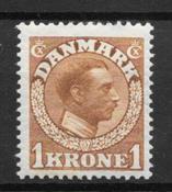 Danmark 1913 - AFA 75 - ustemplet