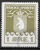 Grønland 1915 - Pak - 4 - stemplet
