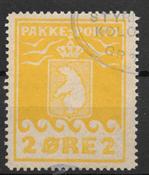 Grønland 1915 - Pak - 5 - stemplet