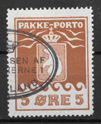 Grønland 1915 - Pak - 6 - stemplet