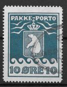 Grønland 1915 - Pak - 7 - stemplet
