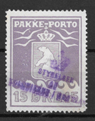 Grønland 1915 - Pak - 8 - stemplet