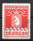 Grønland 1937 - Pak - 16 - stemplet