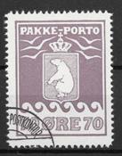 Grønland 1937 - Pak - 17 - stemplet