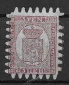 Finland 1860 - AFA 5aC - ustemplet