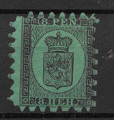 Finland 1866 - AFA 6A - ustemplet