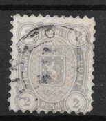 Finland 1875 - AFA 12S - stemplet